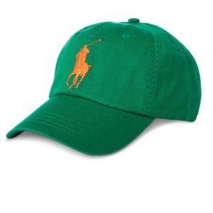 Polo Ralph Lauren Big Pony Classic Cap Green
